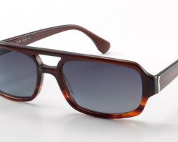 Dark tortoise with gray gradient polarized lens